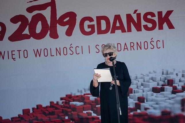 Krystyna Janda odczytała treść deklaracji