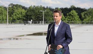 Prezydent Warszawy Rafał Trzaskowski potwierdził, że zbiornik został wybudowany