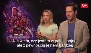 Scarlett Johansson i Paul Rudd opowiadają, jak to jest być superbohaterem