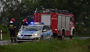 Tragedia kierowcy skutera. Czołowo zderzył się z autem