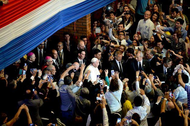 Papież Franciszek w Paragwaju