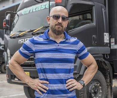Dawid Andres zatrudnił się w indonezyjskiej firmie transportowej