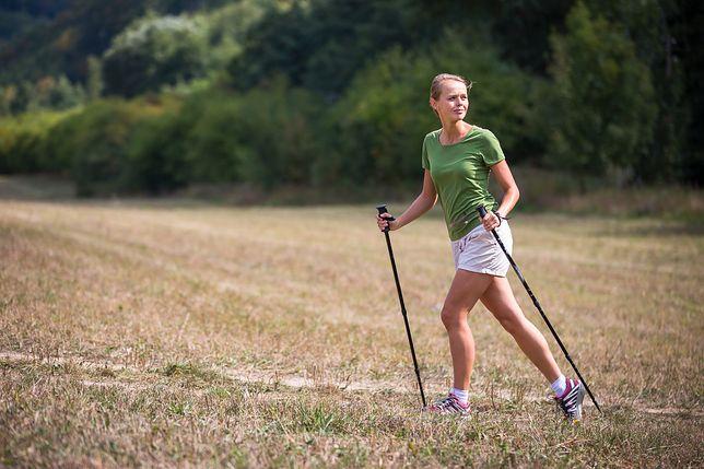 Chodzenie z kijkami czy można schudnąć