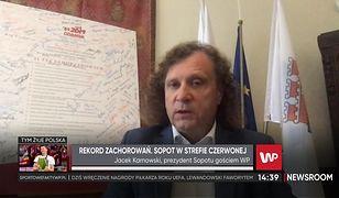 """Koronawirus. Sopot w strefie czerwonej. Jacek Karnowski mówi o """"nieodpowiedzialnej wycieczce"""""""
