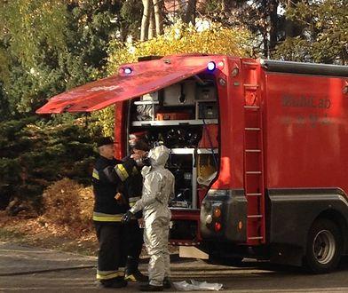 Pomyłka przy mieszaniu substancji chemicznych. 32 osoby ewakuowane