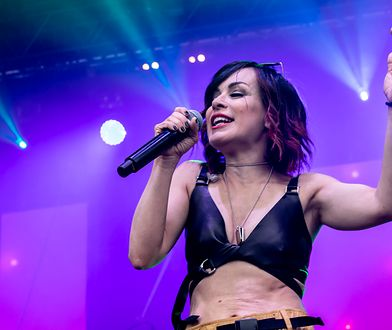 """Jedną z gwiazd festiwalu była autorka piosenki """"Uh la la la"""", Alexia"""
