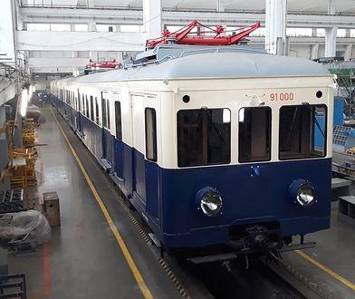 W latach 30. pociąg E-91 kursował
