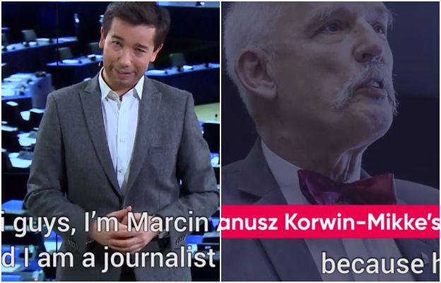 """""""Korwin to nie Polska"""". To wideo obnażyło prawdę o Korwin-Mikkem."""