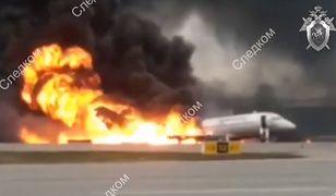 Katastrofa samolotu Suchoj Superjet 100 linii Aeroflot na lotnisku Moskwa-Szeremetiewo