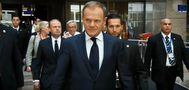 Donald Tusk jak gwiazda Hollywood. Tak prezentują plany przewodniczącego Rady Europejskiej  na jesień