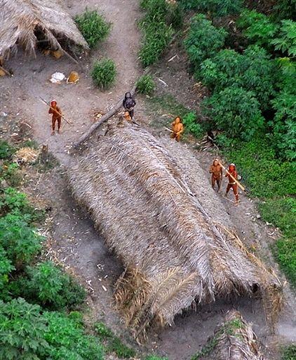 Nieznane plemię Indian