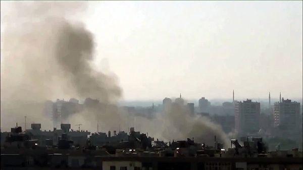 W Damaszku dochodzi do kolejnych ostrzałów