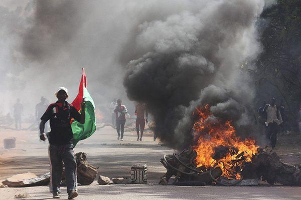 Zamieszki w Ouagadougou w Burkina Faso