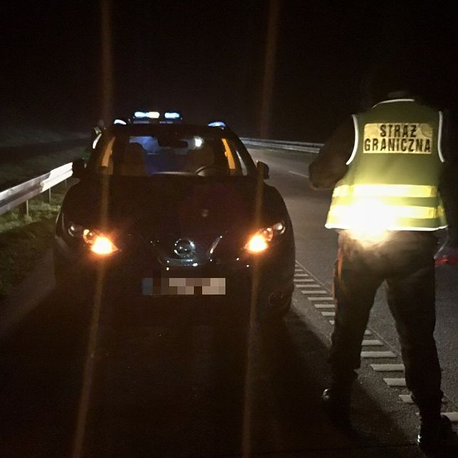 Funkcjonariusze Nadodrzańskiego Oddziału Straży Granicznej odzyskali w tym roku już 64 skradzione pojazdy