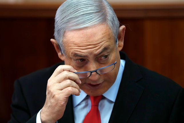 Benjamin Netanjahu - premier Izraela