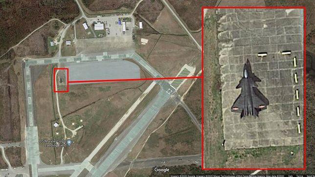 Chiński Chengdu J-20 w bazie USA? Stworzyli własną replikę myśliwca