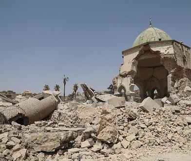 Meczet Al-Nouri zniszczony przez Państwo Islamskie. UNESCO chce go odbudować