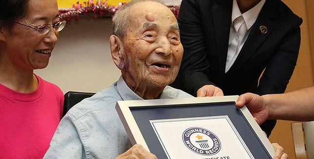 Najstarszy mężczyzna został wpisany do Księgi Rekordów Guinnessa. Yasutaro Koide ma 112 lat