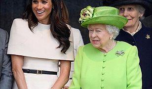"""Pognieciona sukienka Meghan Markle """"wyprostowana"""". Givenchy w ogniu krytyki"""