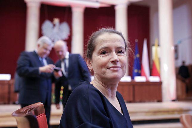 Monika Jaruzelska jest stołeczną radną