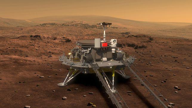 Chiński łazik wylądował. Amerykanie już nie są jedynymi na Marsie