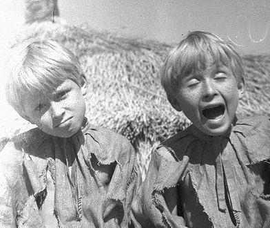 """Bracia Kaczyńscy na planie """"O dwóch takich, co ukradli Księżyc"""""""