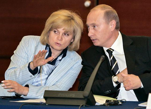 Ełła Pamfiłowa i Władimir Putin