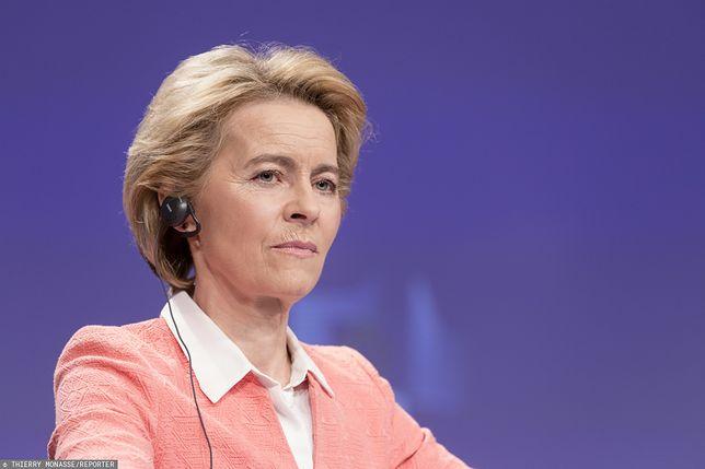 Bruksela. Ursula von der Leyen (przewodnicząca-elekt Komisji Europejskiej)