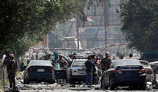 Afganistan: Samochód eksplodował w pobliżu ambasady USA