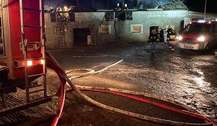 Wawrowice. Atak na strażaka podczas gaszenia pożaru
