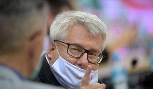 Ryszard Czarnecki podejmie kroki prawne w sprawie informacji o wyłudzeniach z PE