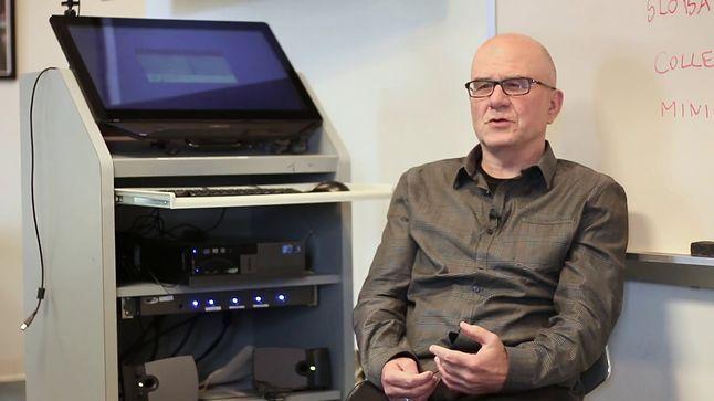 Tomasz Imieliński - jeden z najważniejszych współpracowników Lipskiego. Zdjęcie wykonane w 2017 roku.