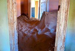 Kolmanskop - niemiecka wymarła wioska w Namibii