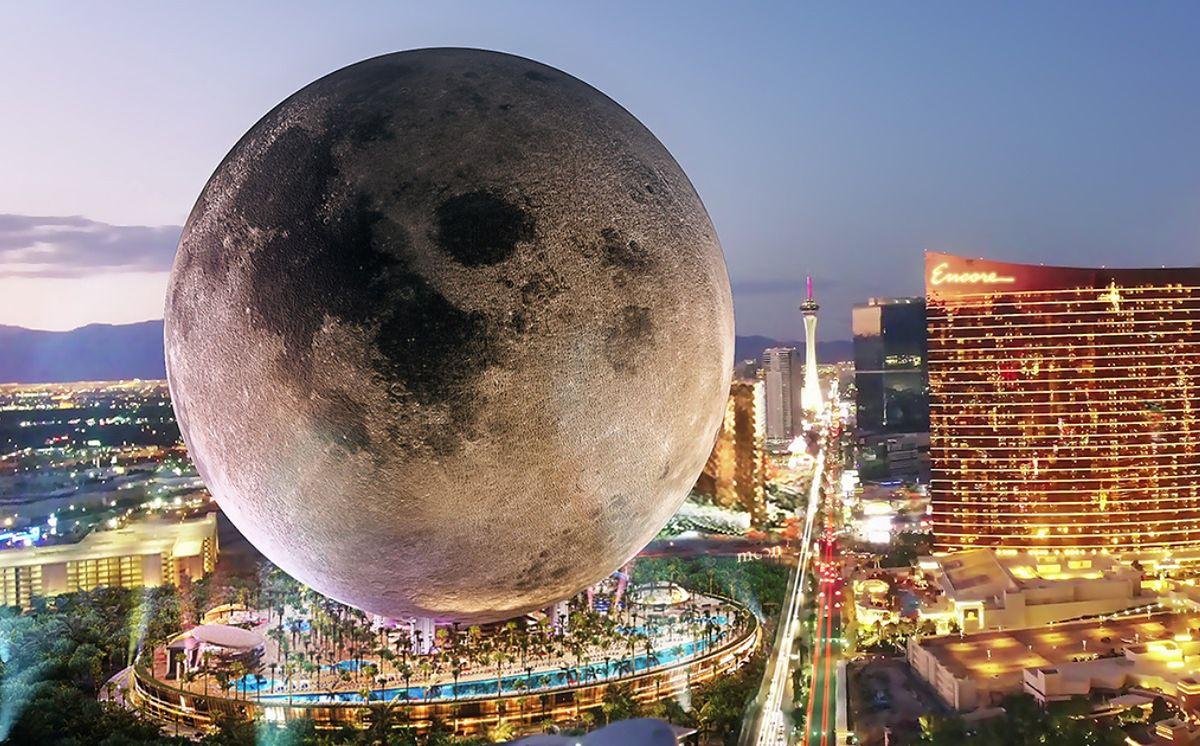 Moon World Resort. Projekt ośrodka hotelowego przypominającego Księżyc