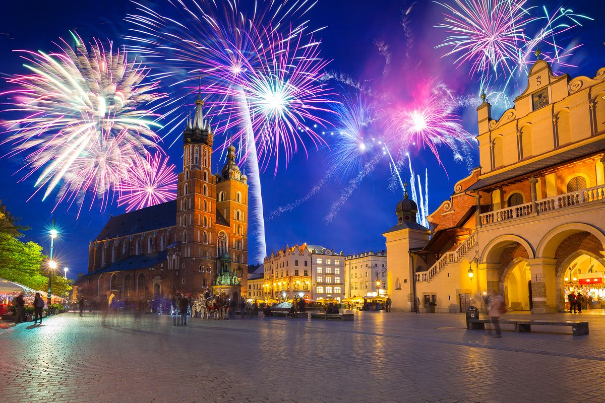 Sylwestra warto także spędzić w jednym z dużych polskich miast