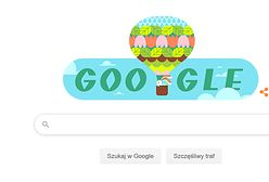 Google Doodle. Pierwszy dzień wiosny w internecie