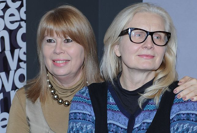 Magda Umer i Zuzanna Łapicka były bliskimi przyjaciółkami