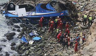 Do tragedii doszło na jednej z najniebezpieczniejszych dróg w Peru