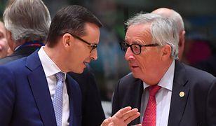Wyniki wyborów 2019. Jean-Claude Juncker gratuluje Mateuszowi Morawieckiemu