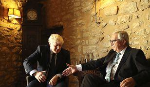 Brexit. Boris Johnson i Jean-Claude Juncker dogadali się