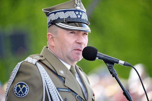 Gen. Leszek Surawski zostanie zdymisjonowany