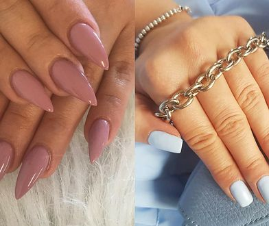 Matowe paznokcie prezentują się pięknie w każdym kolorze.