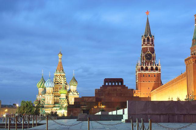 Kreml to jedna z najważniejszych atrakcji w Moskwie