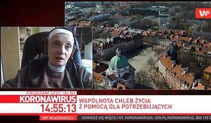 Koronawirus w Polsce. Co z bezdomnymi? Siostra Małgorzata Chmielewska odpowiada