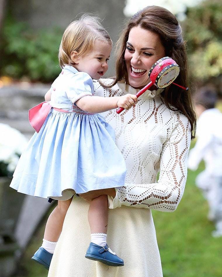 Mała Charlotte niedługo będzie miała młodsze rodzeństwo