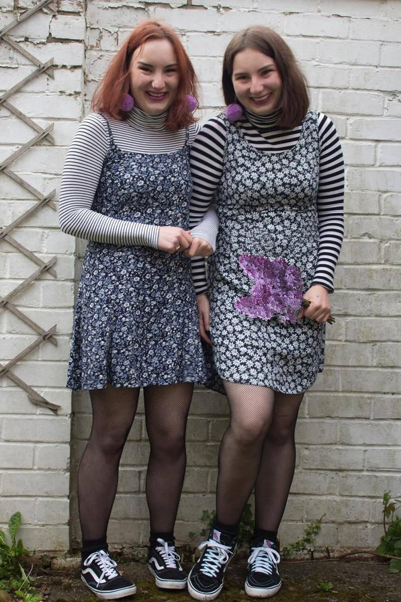 Nosiły takie same ubrania