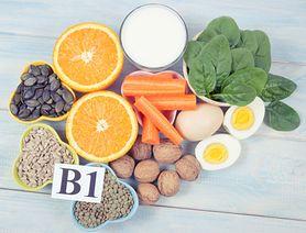 Witamina B1 (tiamina) - rola, zapotrzebowanie, niedobór, nadmiar, źródła