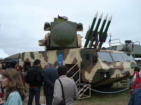 Mobilna wyrzutnia przeciwlotnicza Tor-M2