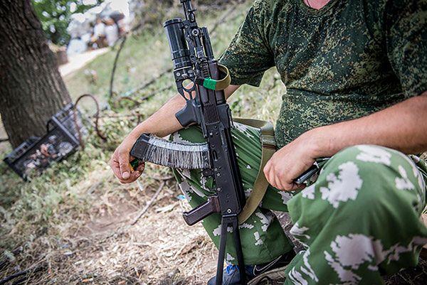 Rosyjskie siły specjalne przy granicy z Ukrainą