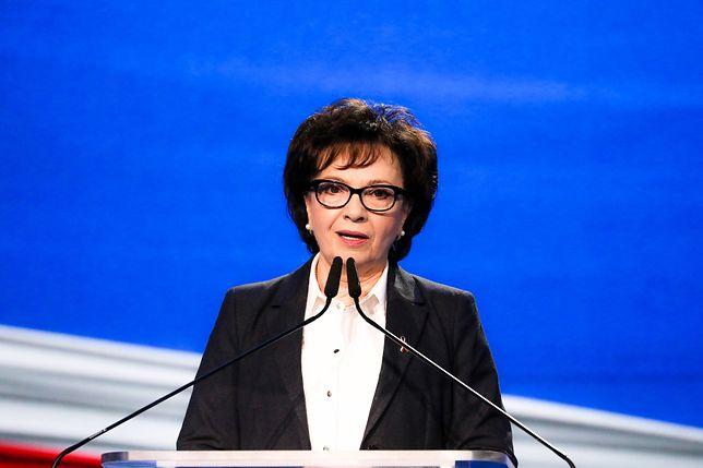 Elżbieta Witek nową twarzą programu społecznego PiS